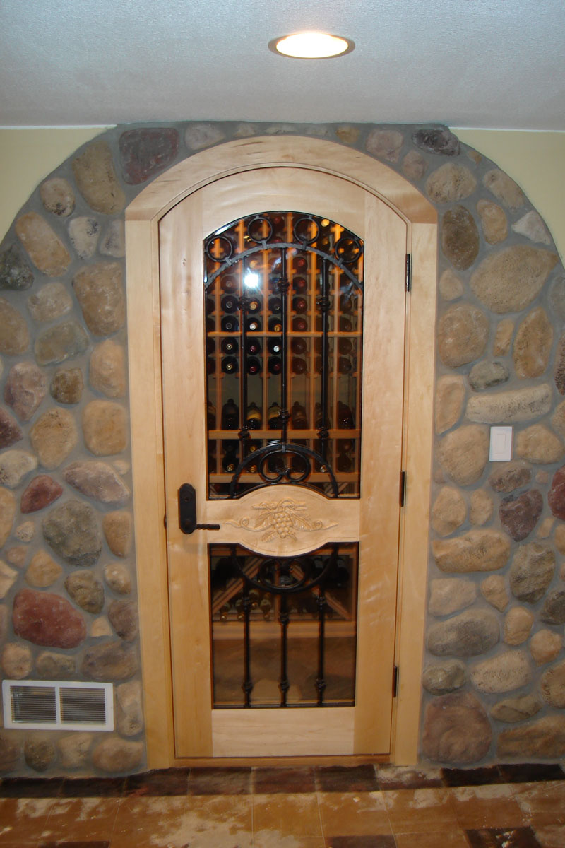 Portfolio of wine cellar work hybrook homes remodeling for Wine cellar in house